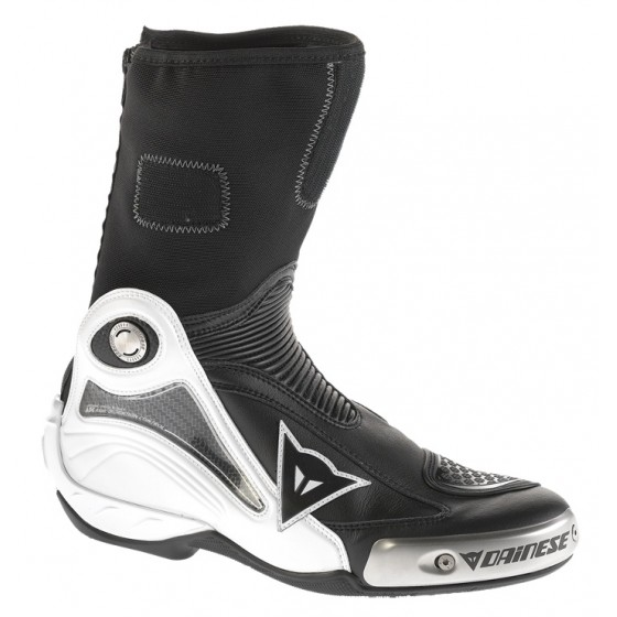 Bota Dainese Axial Pro In blanco/negro