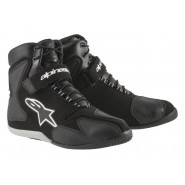 Zapatillas Alpinestars Fast Back Waterproof negro/blanco