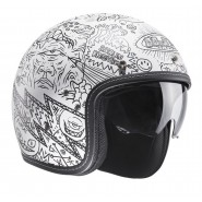 Casco FG 70S Machu blanco mate