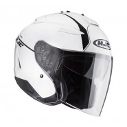 Casco HJC IS-33 Niro blanco