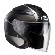 Casco HJC IS-33 Niro negro mate/ blanco negro mate, blanco