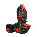 Guantes Dainese Druid 3 black/fluo red