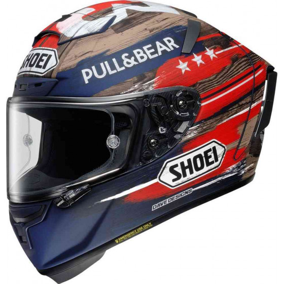 CASCO SHOEI X-SPIRIT 3 MARQUEZ AMERICA TC-2