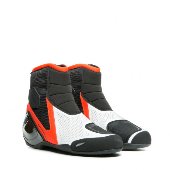 BOTÍN DAINESE DINAMICA AIR BLACK/FLUO-RED/WHITE