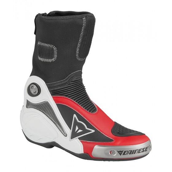 Bota Dainese Axial Pro In blanco/rojo