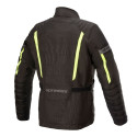 CAZADORA ALPINESTARS GRAVITY DRYSTAR BLACK YELLOW FLUO