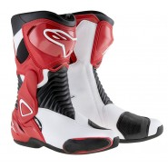 Botas Alpinestars Smx 6 negro/rojo/blanco