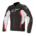 CHAQUETA ALPINESTARS VIPER V2 AIR BLACK WHITE BRIGHT RED