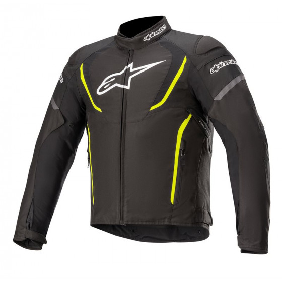 CHAQUETA ALPINESTARS T-JAWS V3 WP BLACK YELLOW FLUO