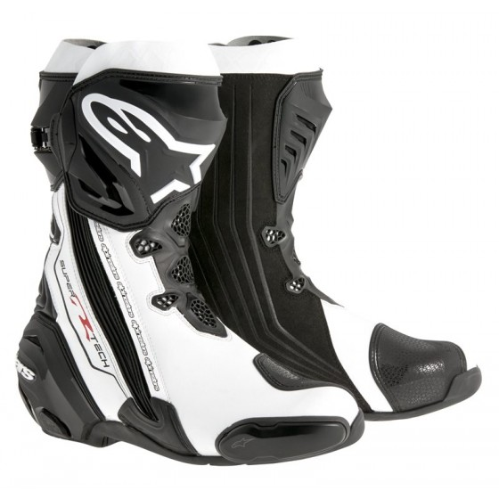 Botas Alpinestars Supertech R negro/blanco