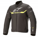 CHAQUETA ALPINESTARS T-SP S WATERPROOF BLACK YELLOW FLUO