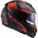 CASCO LS2 FF397 VECTOR FT2 SWIPE MATT BLACK RED