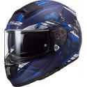CASCO LS2 FF397 VECTOR FT2 STENCIL MATT BLUE