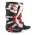 Botas Alpinestars Tech 7 negro/blanco/rojo