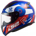 CASCO LS2 FF353 RAPID STRATUS GLOSS BLUE RED WHITE