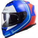CASCO LS2 FF800 STORM SLANT GLOSS BLUE RED