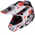 Casco Arai Mx-V Tip Red decorado