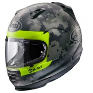 Casco Arai Rebel Mimetic decorado