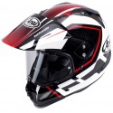 Casco Arai Tour-X 4 Detour Red decorado