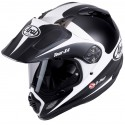 Casco Arai Tour-X 4 Route White decorado