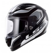 Casco LS2 FF323 Arrow R Geo negro/blanco