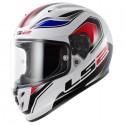 Casco LS2 FF323 Arrow R Geo blanco/azul/rojo