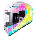 Casco LS2 FF323 Arrow R Stride blanco/iris