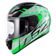 Casco LS2 FF323 Arrow R Stride negro/verde