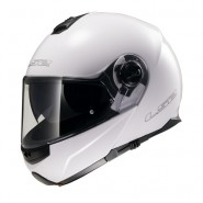 Casco LS2 FF325 Strobe Solid Blanco