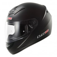 Casco LS2 FF352 Rookie Solid Negro Mate