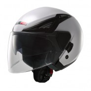 Casco LS2 OFF586 Bishop Solid Blanco