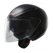 Casco LS2 OFF586 Bishop Solid Negro Mate