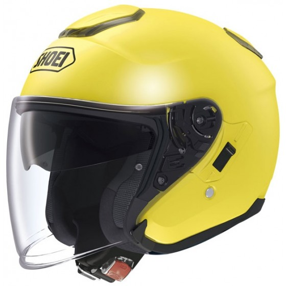 Casco Shoei J-Cruise Amarillo Amarillo Brillante