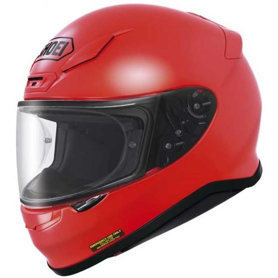 Casco Shoei NXR Shine Red rojo