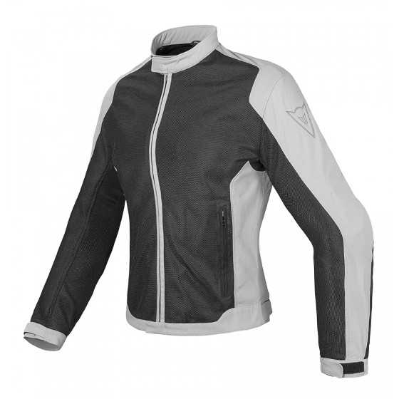 Cazadora Dainese Air Flux D1 Tex Lady negro/gris