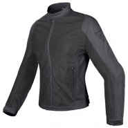 Cazadora Dainese Air Flux D1 Tex Lady negro/negro