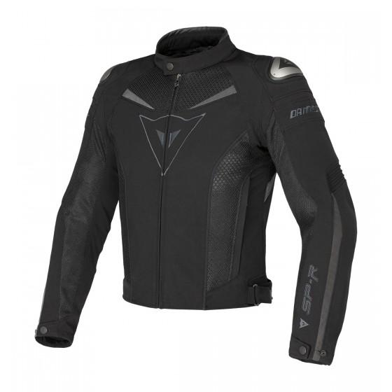 Cazadora Dainese Super Speed Tex negro/negro/antracita