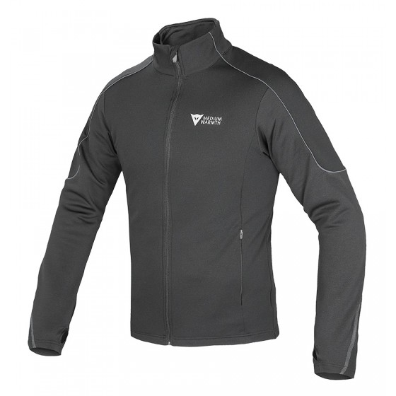 D-Mantle Fleece Dainese negro/negro/antracita