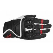 Guantes Alpinestars Celer negro/blanco/rojo