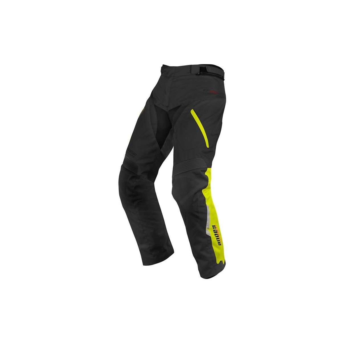 Pantalon Alpinestars Andes Drystar Negro Amarillo Fluor Compra Online