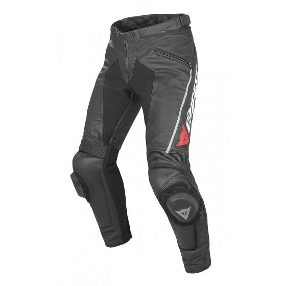 Pantalón Dainese Delta Pro C2 Pelle Estivo negro/negro