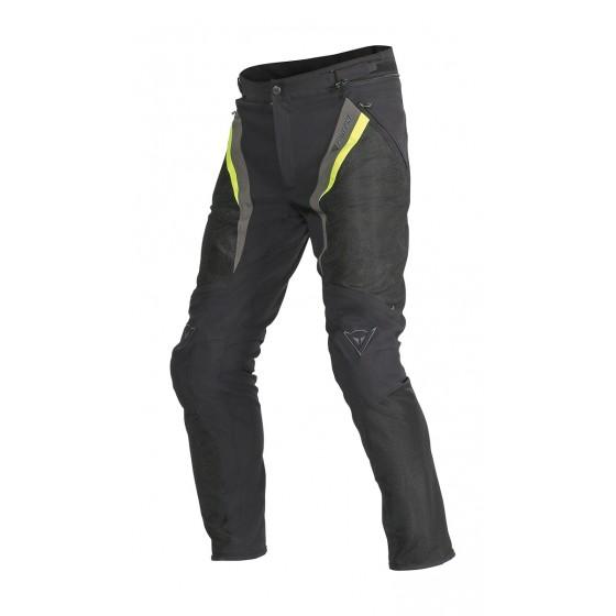 Pantalón Dainese Drake Super Air tex negro/amarillo/antracita