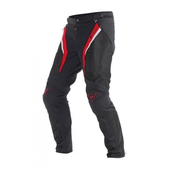 Pantalón Dainese Drake Super Air tex negro/rojo/blanco