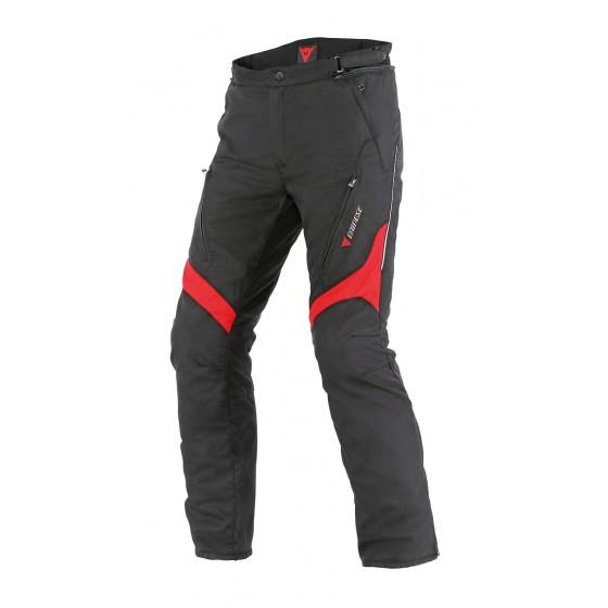 Pantalón Dainese Tempest D-Dry negro/rojo