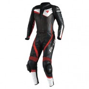 Mono Dainese Veloster divisible Lady negro/blanco/rojo
