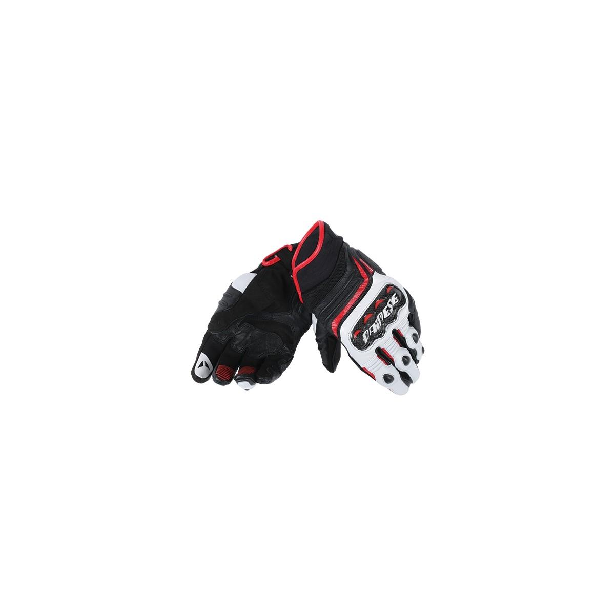 714d4166 Guantes Dainese Carbon D1 Short Lady negro/blanco/rojo, compra online