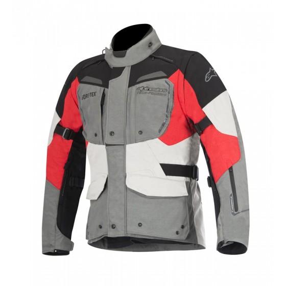 Chaqueta Alpinestars Durban Gore-Tex gris/negro/rojo