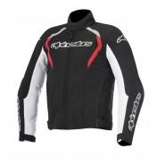Chaqueta Alpinestars Fastback Waterproof negro/blanco/rojo