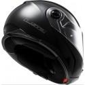 Casco LS2 FF325 Strobe Solid Negro