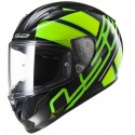 Casco LS2 FF323 Arrow R Ion negro/verde fluor